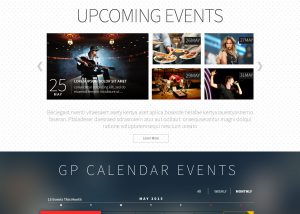 GP Calendar Website