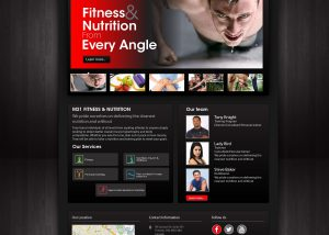 M21 Fitness & Nutrition Website