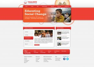 Taleem Foundation Website